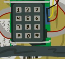 Counter Strike Bomb Text Sticker