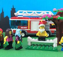 Happy Fireman Xmas by LegoLegion