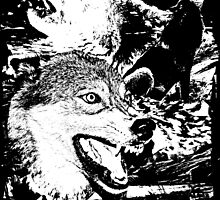 wolves. (alive) by Robby Dougherty