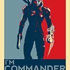 FemShep - I'm Commander Shepard by FlgStudios