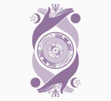Spiritual Compass (lavender) Kids Clothes