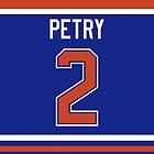 Edmonton Oilers Jeff Petry Jersey Back Phone Case by Russ Jericho