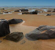 Rainy Beach by sydney54