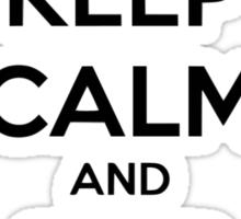 Keep Calm and Ship Skyeward Sticker