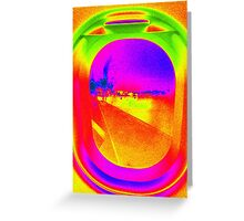 FLYING COLOURS Greeting Card