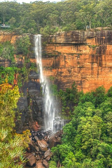 Fitzroy Falls .. the long view by Michael Matthews