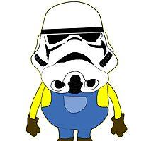 stormtrooper by Alexdiren