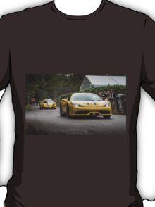 Ferrari 458 Speciale & Sin R1 T-Shirt