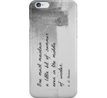 Winter Thoreau iPhone Case/Skin