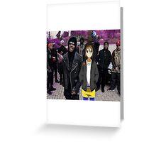 A$AP YUI Greeting Card