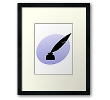 Ink and Quill Framed Print