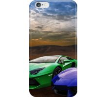 Lamborghini Triplet iPhone Case/Skin