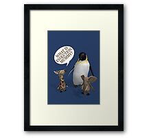What Is Evolution, Mummy? Framed Print