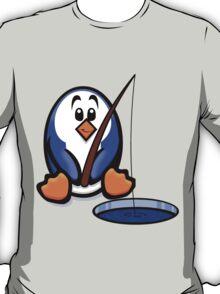 HeinyR- Fishing Penguin T-Shirt
