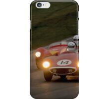 Racing in the rain iPhone Case/Skin