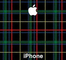 Tartan iPhone 6 Case by ImageMonkey
