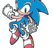 Sonic the Hedgehog by BelovedxCisque
