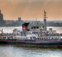 Mersey Ferry Boat Snowdrop by © Steve H Clark Photography