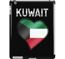Kuwait - Kuwaiti Flag Heart & Text - Metallic iPad Case/Skin