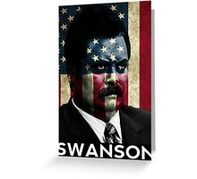 The Fiercest Ron Swanson Greeting Card