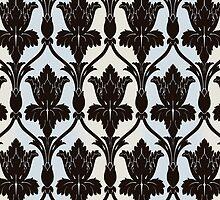 Sherlock Wallpaper Print by lizzielizabeth
