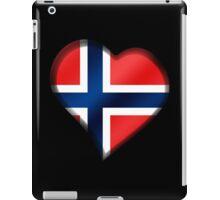 Norwegian Flag - Norway - Heart iPad Case/Skin