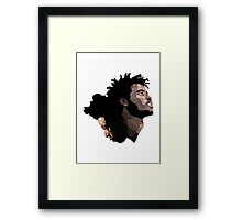 Joey Bad and Capital Steez Framed Print