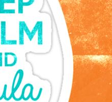 Keep Calm & Doula On Sticker