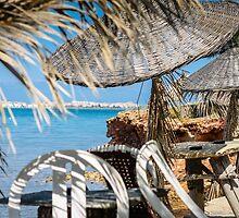 Seaside Tiki Umbrellas by SuzannemorriS