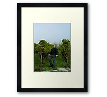 Swiss Vineyard Framed Print