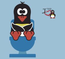 Domestic Penguin - Toilet (Smelly Poo!) Kids Clothes