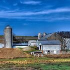 Pennsylvania Farm Land by Tom Piorkowski