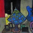 kimono lamp and guitar by glennbrady