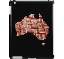 Australia - Australian Bacon Map - Woven Strips iPad Case/Skin