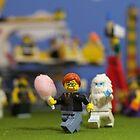 Warning: Cotton Candy Attracts Yeti by emmkaycee