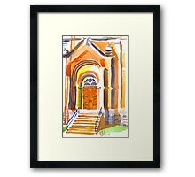 Entranceway Framed Print