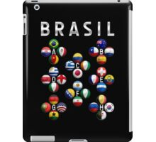 Brasil - World Football or Soccer - 2014 Groups - Brazil iPad Case/Skin