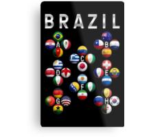 Brazil - World Football or Soccer - 2014 Groups - Brasil Metal Print