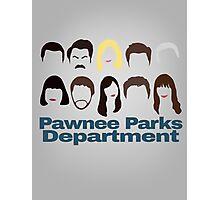 Pawnee Parks and Rec Crew Photographic Print
