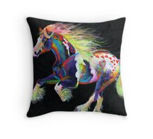 Trail Of Hearts Pony Throw Pillow