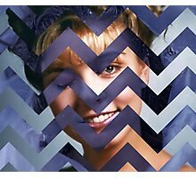 Twin Peaks - Laura Black Lodge Photographic Print