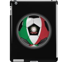 Italy - Italian Flag - Football or Soccer iPad Case/Skin