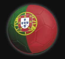 Portugal - Portuguese Flag - Football or Soccer 2 by graphix