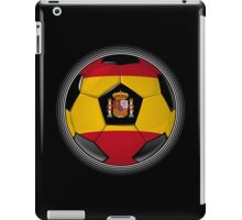 Spain - Spanish Flag - Football or Soccer iPad Case/Skin