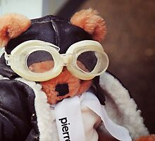 Teddy Pierre The Aviator by Alexandra Lavizzari