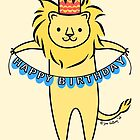 Happy Birthday Lion by zoel