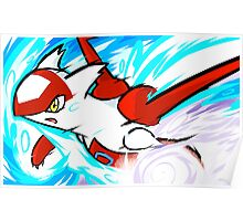 Latias | Mist Ball Poster