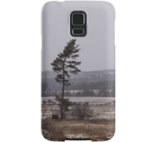 Canadian North - Lone Pine, Fields, Hills and Fresh Snow Samsung Galaxy Case/Skin