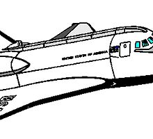 USA Space Shuttle by kwg2200