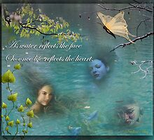 Love is like a jump in the water by NadineMay